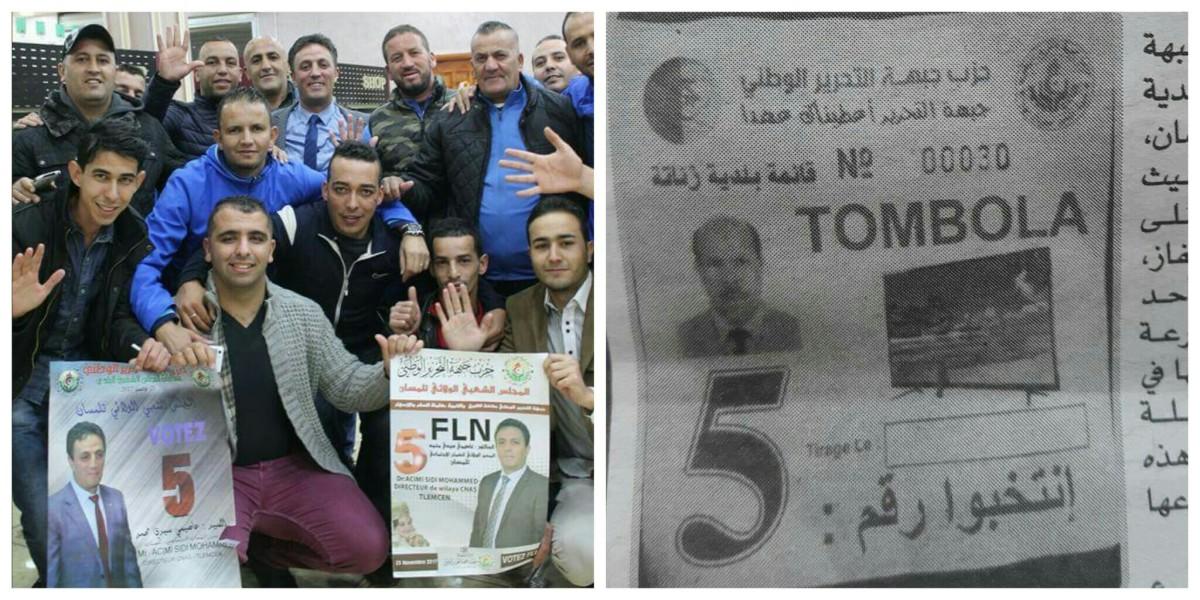 Un candidat FLN organise une tombola pour gagner les élections à Tlemcen - K-DIRECT