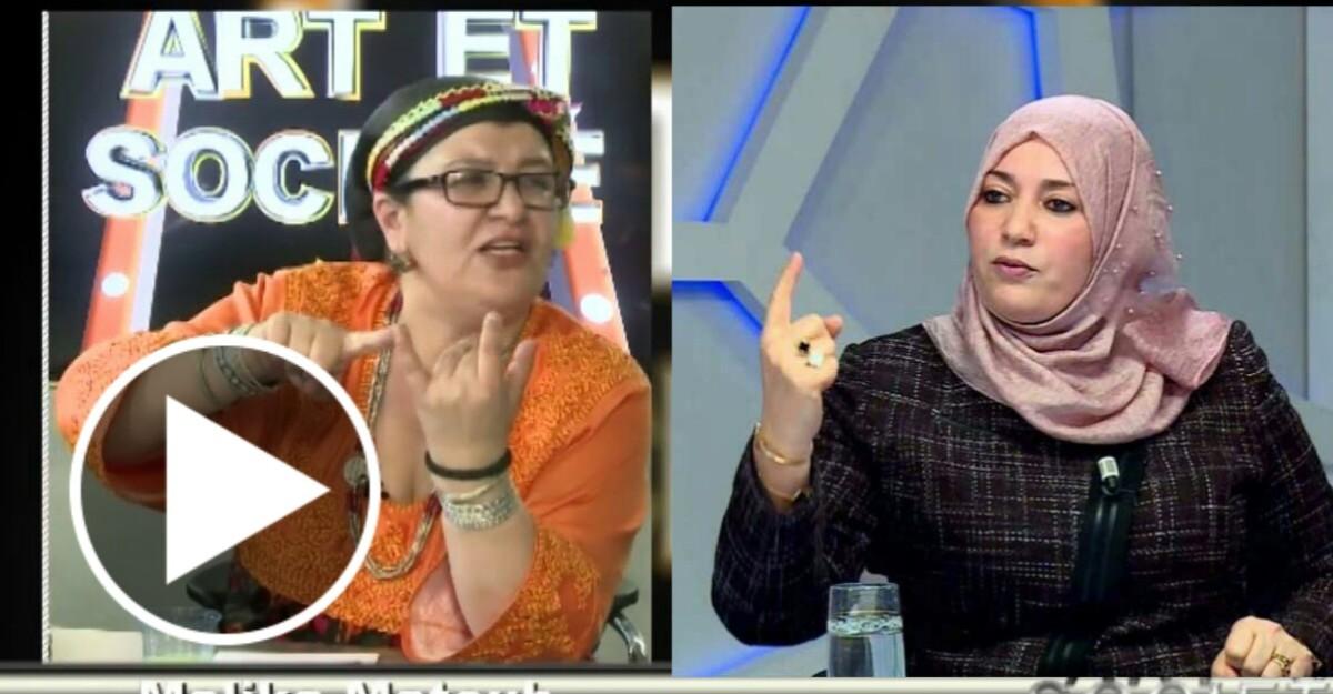 Malika Matoub demande un face à face avec la députée Naima Salhi sur un plateau de télévision - K-DIRECT