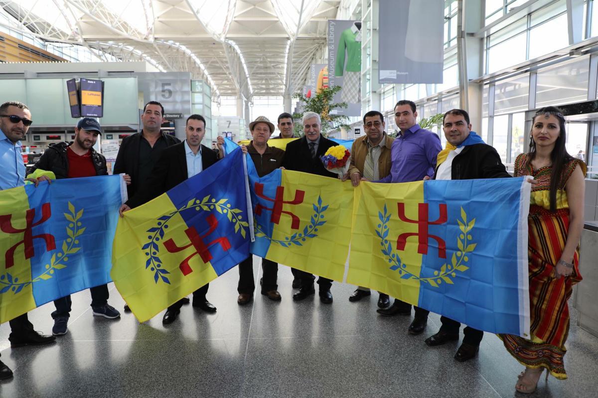 Tournée en Amérique du Nord du Président de L'Anavad Ferhat Mehenni - K-DIRECT
